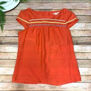 Forever 21 Women's Blouse Size Large Ric Rac